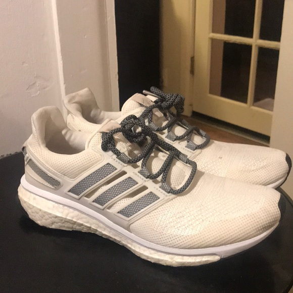 adidas Shoes   Energy Boost White